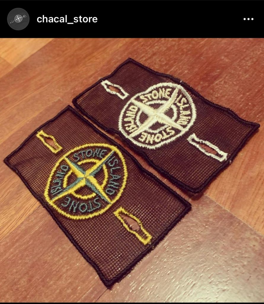 parches stone island