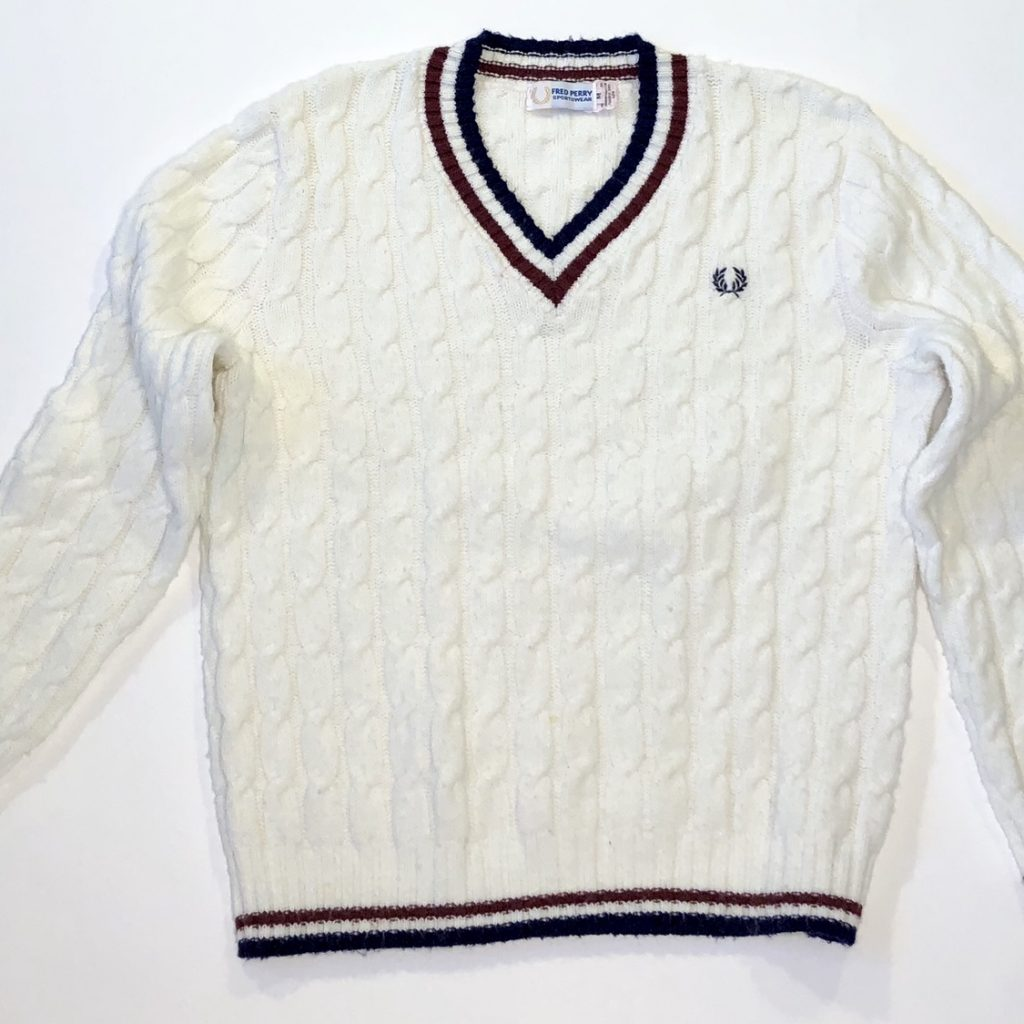 Fred Perry sweater. The Ivy look.